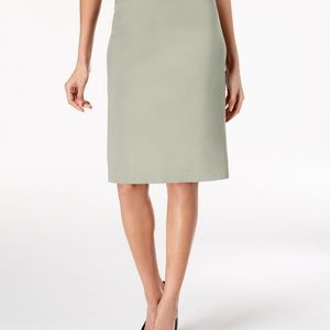 Jm Collection Petite Rivet-Waist Pencil Skirt, PL